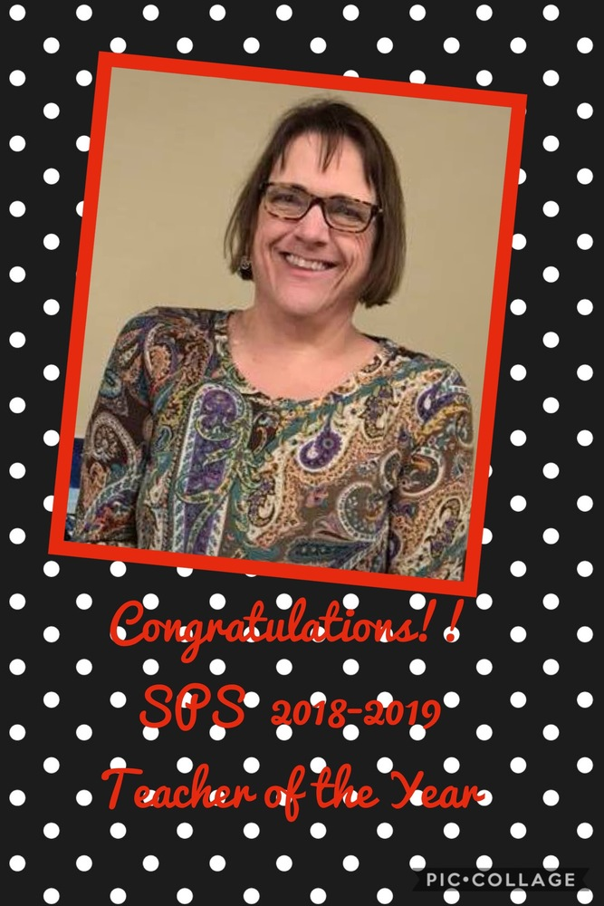 2018-2019 SPS Teacher of the Year Selected
