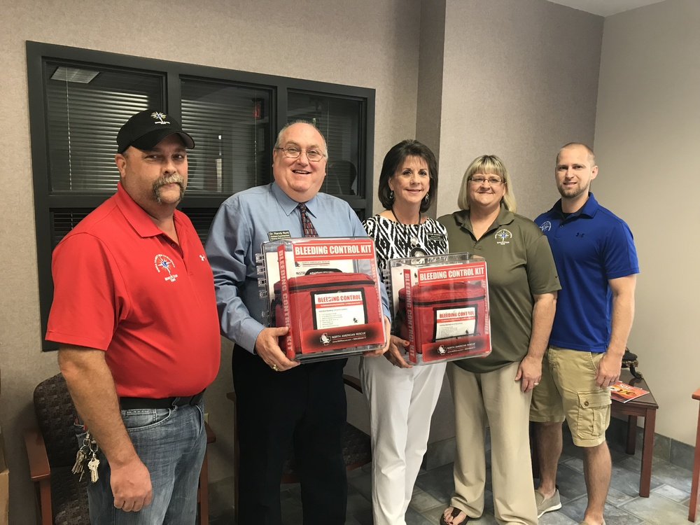 Northstar EMS Donates Stop the Bleed Kits