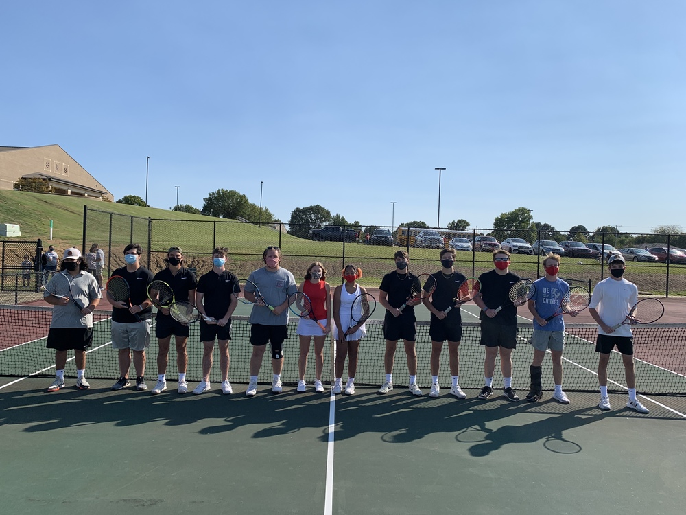Searcy High School Tennis Senior Recognition