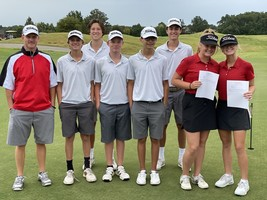 SHS Golf Teams Advance to State Tournament