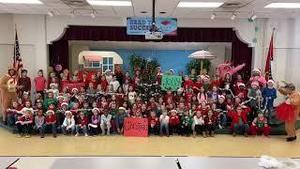 Merry Christmas from McRae Elementary!