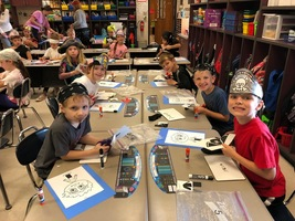 2nd Grade Pirate STEM Day