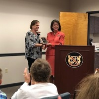 Searcy School District Honors Kim Rupard