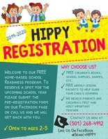 Enroll in HIPPY for the 2019-2020 School Year