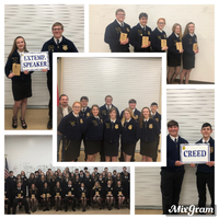 Searcy FFA Members Shine at Red/White River Sub-Area Leadership Contest