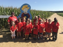 Mrs. Russell's Class @ the Pumpkin Patch