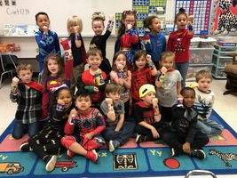 Kindergarten Superhero STEAM Day