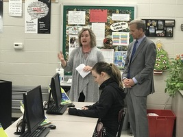 Assistant US Education Secretary Visits Searcy High School