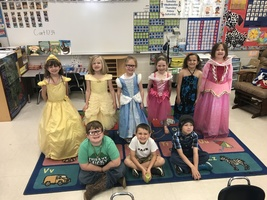 K Students Ready for Fairy Tale Day!!