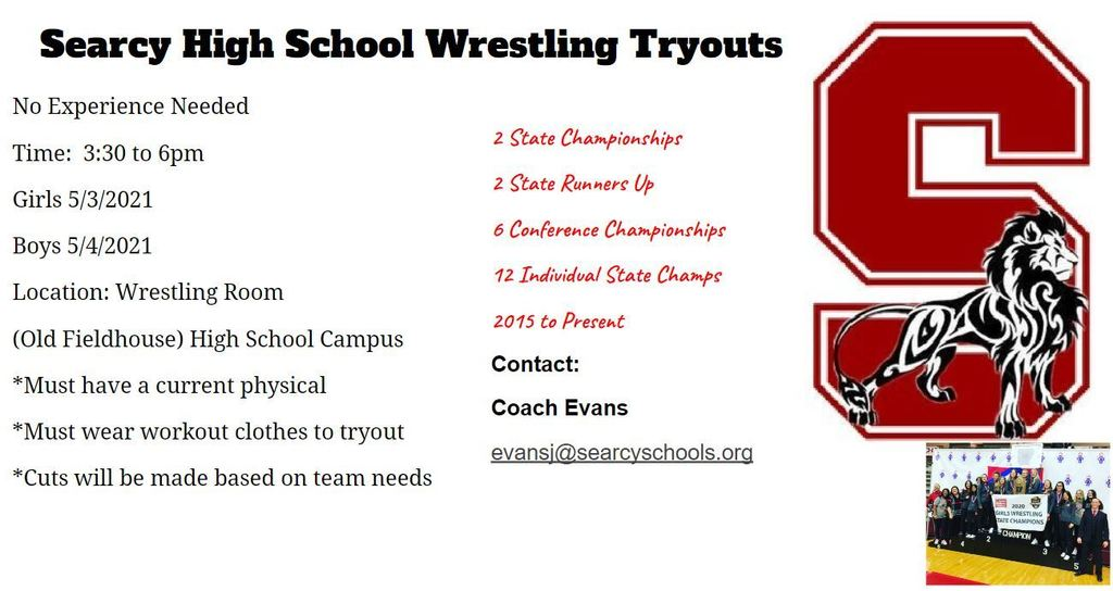 Wrestling Tryouts