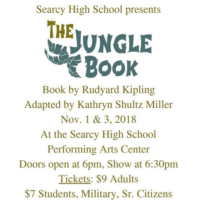 Jungle book flyer