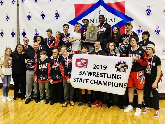 State wrestling photos