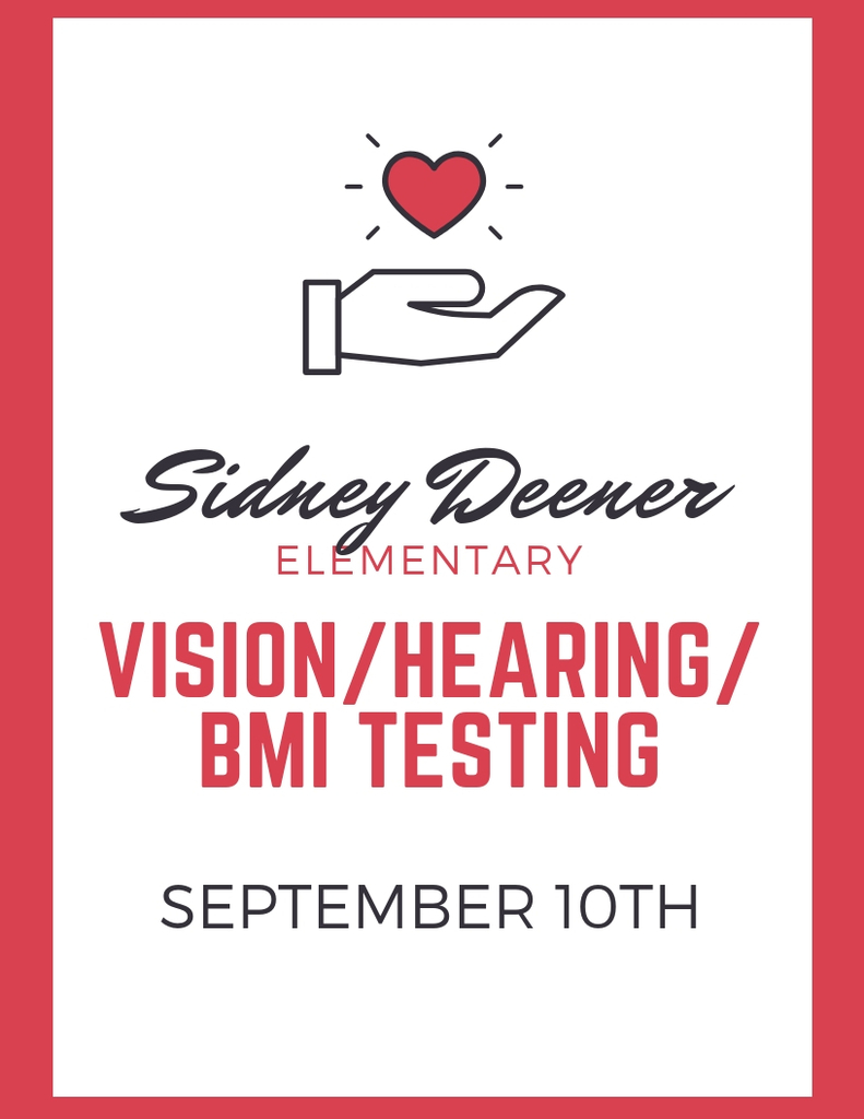 vision, hearing, bmi screening