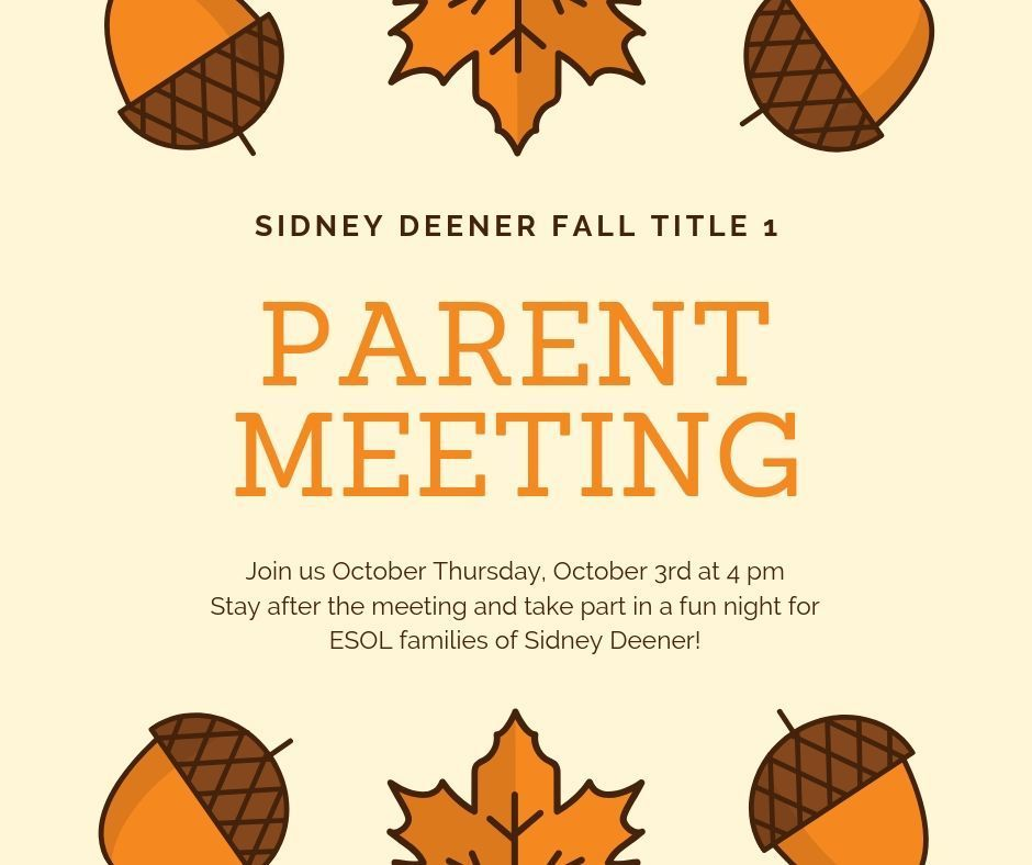 parent meeting title 1