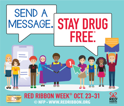 Monday Drug Free message