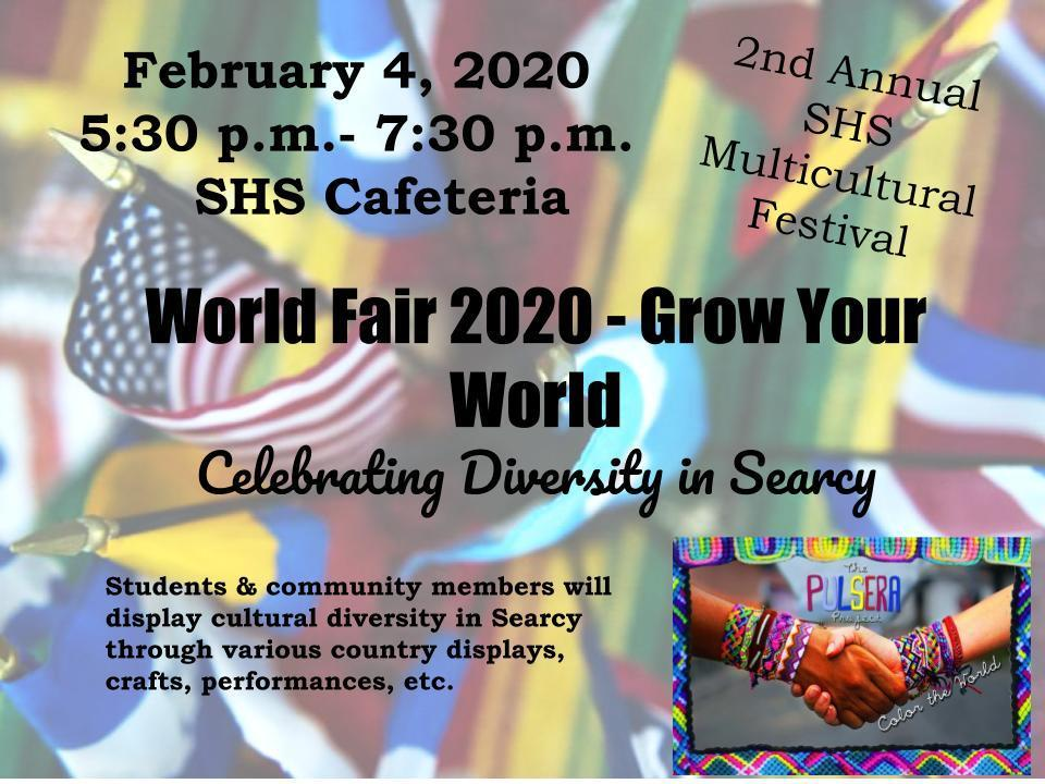 202 Multicultural Fair flyer