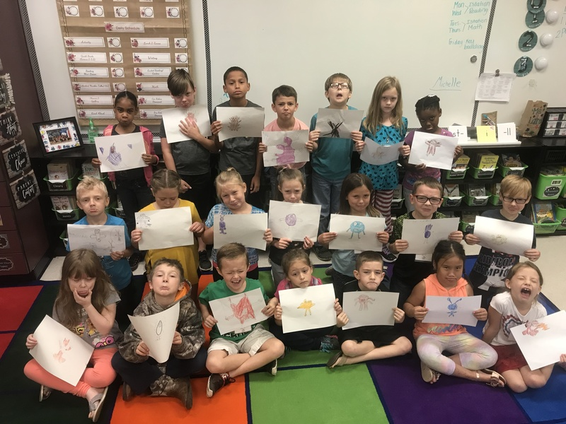 Ms. Laire's Second Grade Discovers the Importance of Adjectives