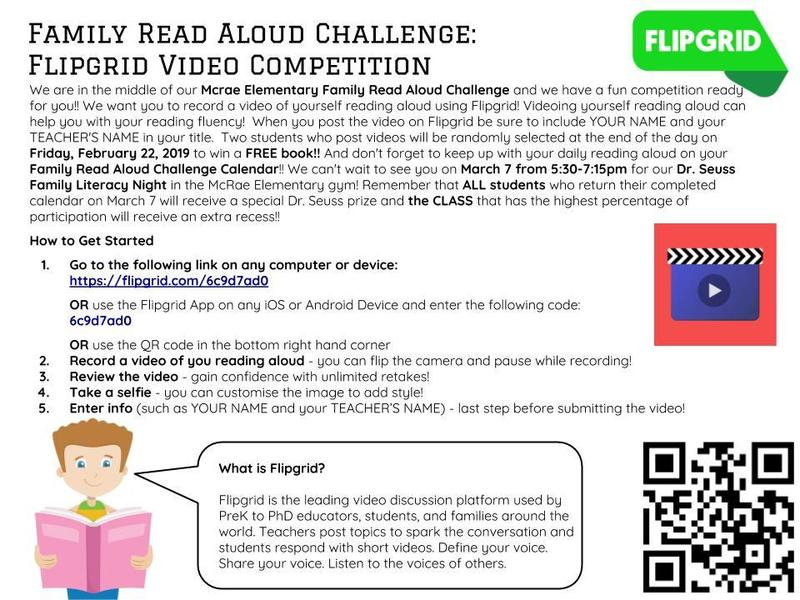 Family Read Aloud Challenge